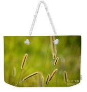 Late Summer Grasses Weekender Tote Bag