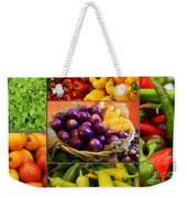 Late Summer Harvest Weekender Tote Bag