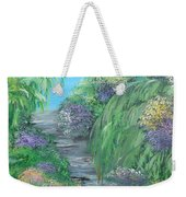 Late Summer On The White River Weekender Tote Bag