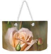 Late Summer Rose Weekender Tote Bag