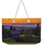 Late Summer Sunset Weekender Tote Bag