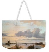 Late Winter In Holland Weekender Tote Bag