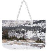 Late Winter Storm Weekender Tote Bag