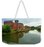 Latimer And Crick Building In Northampton Weekender Tote Bag