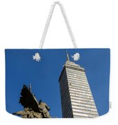 Latin American Tower And Statue Weekender Tote Bag