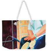 Latin Jazz Musician Weekender Tote Bag