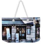 Latin St Jacques Paris France Weekender Tote Bag