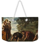 Latona Changing The Lycian Peasants Into Frogs Weekender Tote Bag