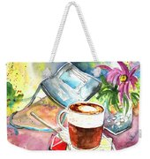 Latte Macchiato In Italy 01 Weekender Tote Bag by Miki De Goodaboom