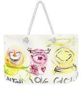 Laugh Love Glow Weekender Tote Bag