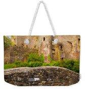 Laugharne Castle Weekender Tote Bag