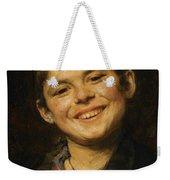 Laughing Boy Weekender Tote Bag