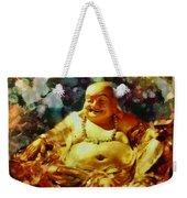Laughing Buddha  Weekender Tote Bag