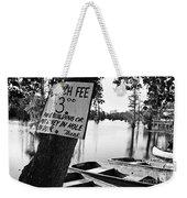 Launch Fee Weekender Tote Bag by Scott Pellegrin
