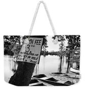 Launch Fee -bw Weekender Tote Bag