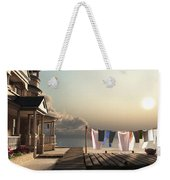 Laundry Day Weekender Tote Bag by Cynthia Decker