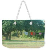 Laundry Hanging From The Tree Weekender Tote Bag
