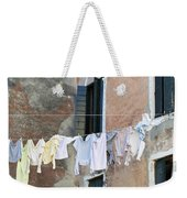Laundry I Color Venice Italy Weekender Tote Bag