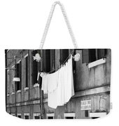 Laundry IIi Black And White Venice Italy Weekender Tote Bag