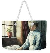 Laundry Maid Weekender Tote Bag by English School