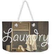 Laundry Room Sign Weekender Tote Bag