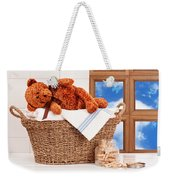 Laundry With Teddy Weekender Tote Bag