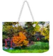 Laura Bradley Park Japanese Garden 02 Weekender Tote Bag