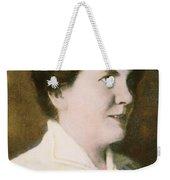 Laura Ingalls Wilder (1867-1957) Weekender Tote Bag