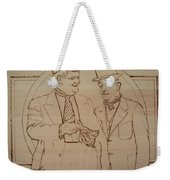 Laurel And Hardy - Thicker Than Water Weekender Tote Bag