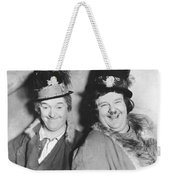 Laurel And Hardy Weekender Tote Bag