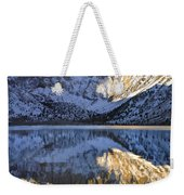 Laurel Mt And Convict Lake Sierra Weekender Tote Bag