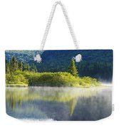 Laurentian Summer Morning Weekender Tote Bag