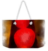 Lava Lamp Photo Art 04 Weekender Tote Bag