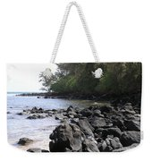 Lava Rocks Weekender Tote Bag