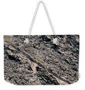 Lava Textures Weekender Tote Bag