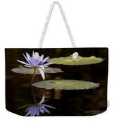 Lavendar Reflections In The Lake Weekender Tote Bag