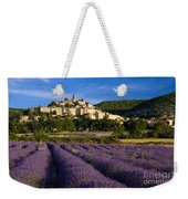 Lavender And Banon Weekender Tote Bag