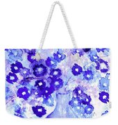 Lavender And Blue Impressions Of Spring Weekender Tote Bag