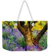 Lavender And Olive Tree Weekender Tote Bag