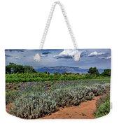 Lavender And Sunflowers Weekender Tote Bag