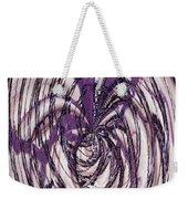 Lavender Bead Art Weekender Tote Bag