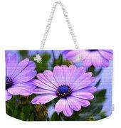 Lavender Beauties Weekender Tote Bag