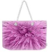 Lavender Beauty Weekender Tote Bag