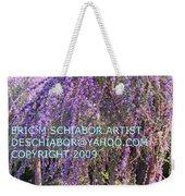 Lavender Butterfly Bush Weekender Tote Bag
