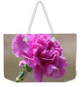Lavender Carnation Weekender Tote Bag