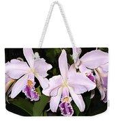 Lavender Cattleya Orchids Weekender Tote Bag