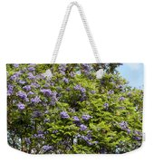Lavender-colored Blooming Tree Weekender Tote Bag
