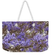 Lavender-colored Tree Blossoms Weekender Tote Bag