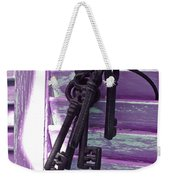 Lavender Cottage Keys Weekender Tote Bag