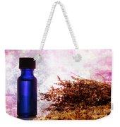 Lavender Essential Oil Bottle Weekender Tote Bag